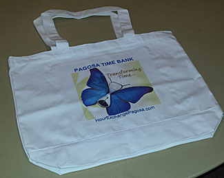 Time Bank Tote Bag